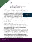Strategic Foresight Nine Techniques
