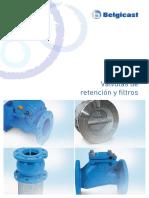 valvulas retenciones y filtros