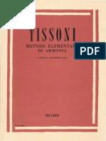 Tissoni Metodo Elementare Di Armonia