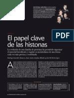 El papel clave de las histonas.pdf