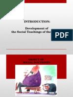 Development of the Church's Understanding