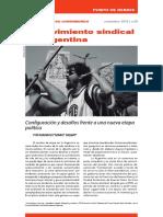 El Movimiento Sindical en Argentina VERSION FINAL IMPRENTA