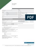 Dryer Data Sheet