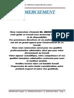Exemple d'Application Simple de Calcul de Charpente Métallique