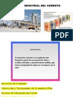 Proceso Industrial Del Cemento Ppt