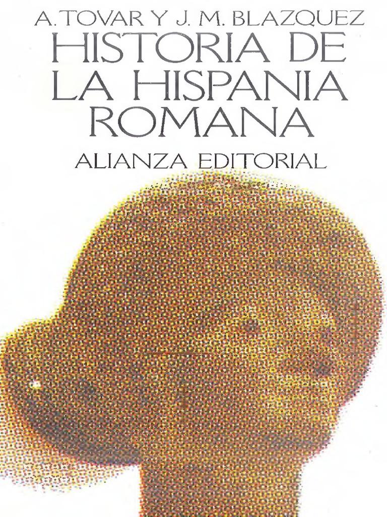 the best attitude eb08e 1f2ef Tovar - Historia de La Hispania Romana.pdf