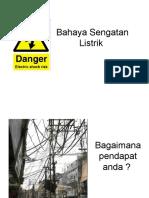 Bahaya Sengatan Listrik