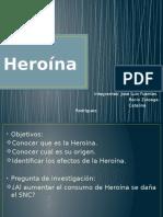 HEROÍNA - PRSENTACIÓN BIOLOGÍA.