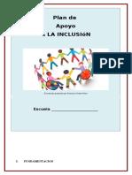 Plan Inclusión