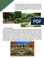Texto Base Estilos de Jardins 2 Grego e Romano