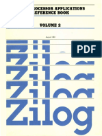 1983 Zilog Microprocessor Applications Reference Book Volume 2