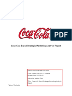 Dan Berciu - Coca Cola Marketing Report