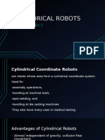 electives report cylindrical robot