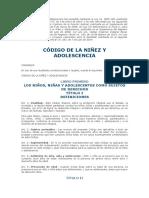 Informacionecuador.com Ecuador - Codigo de La Niñez y Adolecencia - (a Febrero de 2016)