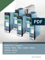 Catalog SIPROTEC Compact 3.01