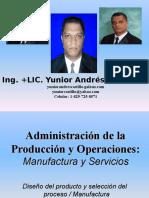Administracion Produccion y Operaciones Manufactura y Servicios