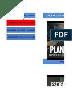 Plan de 8 Semanas de Imparable FUERZA en LAGARTIJAS