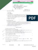 10th Maths 2016 Sa-1 Orignal Question Paper -15