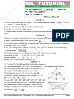 10th Maths 2016-17 Sdv Sa-1 Question Paper-13