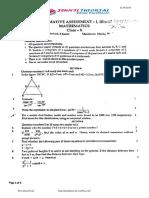 10th Maths Sa-1 Sep 2016 Original Question Paper-5