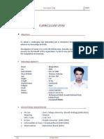 Waqar Curriculum Vitae