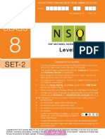 Nso Level2 Class 8 Set 2