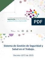 Actualización en Normas y Prácticas de Salud Ocupacional en Colombia