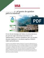 Semana Minería Cajamarca