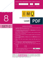 Imo Level2 Class 8 Set 2