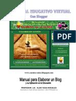 Manual Elaborar Blog Aplicacion Educacion 2