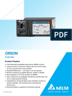Factsheet TPS Controllers ORION Touch En