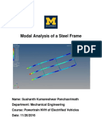 Modal Analysis of Steel Frame Finalaltair