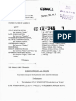 Rendon-Reyes Et Al Indictment