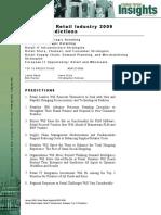 Worldwide Retail Industry 2009 Top 10 Predictions