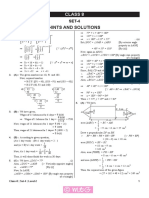 Imo Level2 Solution Class 8 Set 4