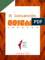 IX Convención Origami Caracas 2016