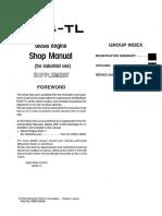 Mitsubishi 6d34-Tl Shop Manul