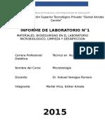 Laboratorio de bioquimica