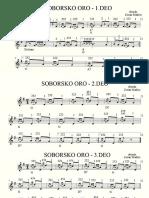 Soborsko Oro - Note Za Harmoniku