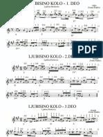 Ljubisino Kolo (Ljubisa Pavkovic)- Note Za Harmoniku