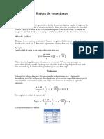 Raíces de Ecuaciones (3)