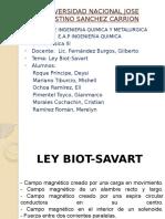 Ley Biot Savart