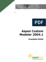 Aspen Custom Modeler Examples