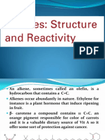 08 Alkenes Structure and Reactivity