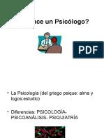 Qué Hace Un Psicólogo