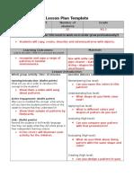 lesson plan math 1 - patterns  1