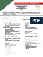 Programa de Perforacion y Mineria Subterranea S1-2017