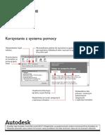 AutoCad 2008 - Korzystanie z Systemu Pomocy (Szybki Start) PL