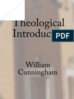 Theological Introduction - Cunningham, William