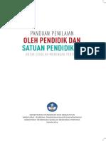 PANDUAN PENILAIAN SMP K13 PERMEN 23 TAHUN 2016.pdf